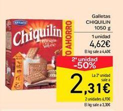 Oferta de Galletas Chiquilín por 4.62€