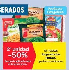 Oferta de Productos Findus por