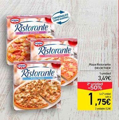 Oferta de Pizza Ristorante Dr. Oetker por 3.49€