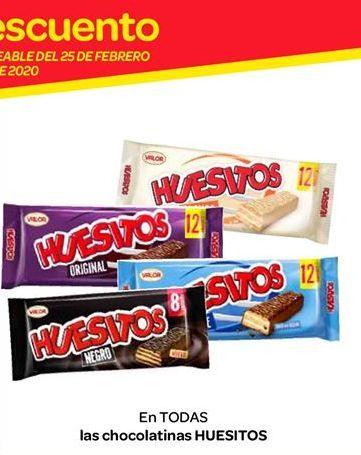 Oferta de Chocolatinas Huesitos por