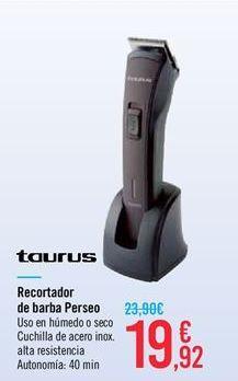 Oferta de Recortador de barba Perseo Taurus por 19.92€