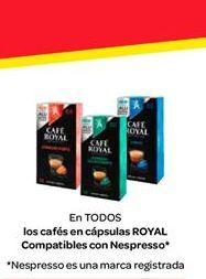 Oferta de Café en cápsulas compatibles con Nespresso por