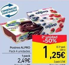 Oferta de Postres Alpro por 2.49€