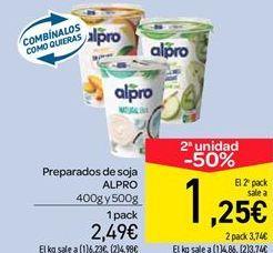Oferta de Yogur de soja Alpro por 2.49€