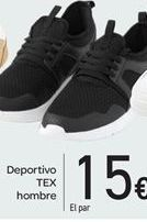 Oferta de Deportivo TEX hombre por 15€