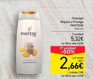 Oferta de Champú Repara y Protege PANTENE por 5.32€