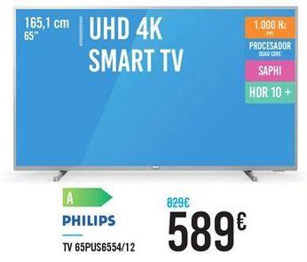 Oferta de TV 65PIS6554/12 por 589€