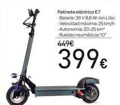 Oferta de Patinete eléctrico E7 por 399€