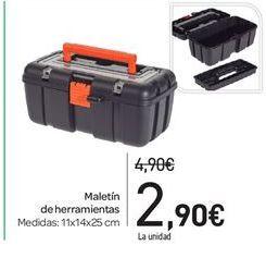Oferta de Maletín de herramientas por 2.9€
