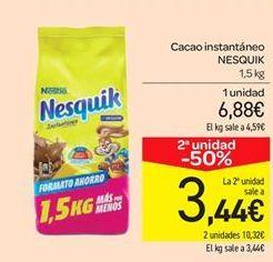 Oferta de Cacao instantáneo NESQUIK por 6.88€