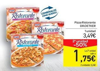 Oferta de Pizza Dr Oetker por 3.49€