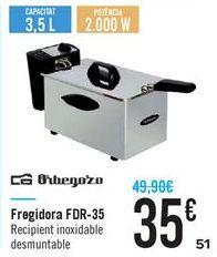 Oferta de Freidora FDR-35 por 35€