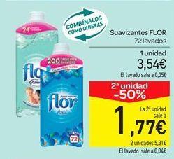Oferta de Suavizante Flor por 3.54€
