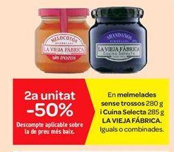 Oferta de Mermeladas sin trozos y cocina selecta La Vieja Fábrica por