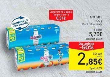 Oferta de Actimel por 5.7€