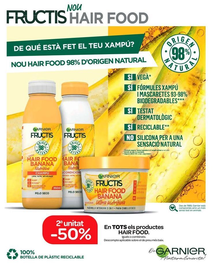 Oferta de Productos HAIR FOOD por