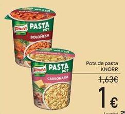 Oferta de Pots de pasta por 1€