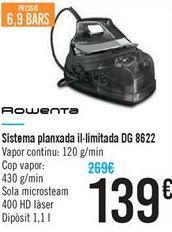 Oferta de Sistema planchado ilimitado DG 8622 por 139€