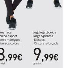 Oferta de Legging largo o pirata por 9.99€