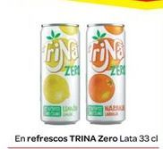 Oferta de En Refrescos TRINA Zero por