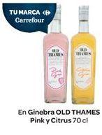 Oferta de En Ginebra OLD THAMES Pink y Citrus por