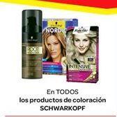 Oferta de En TODOS los `productos de coloración SCHWARKOPF por