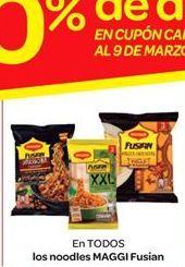 Oferta de Noodles Maggi Fusian por