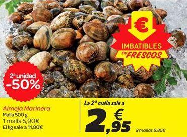 Oferta de Almeja Marinera por 2.95€