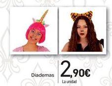 Oferta de Diademas por 2.9€