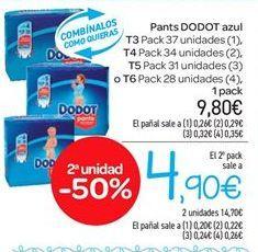 Oferta de Pants Dodot azul por 9.8€