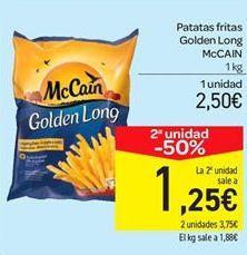 Oferta de Patatas fritas McCain por 2.5€