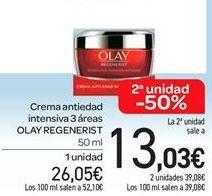 Oferta de Crema antiedad Olay Regenerist  por 26.05€