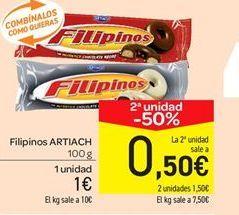Oferta de Filipinos Artiach por 1€