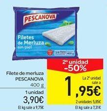 Oferta de Filete de merluza PESCANOVA por 3.9€