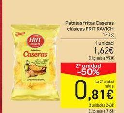 Oferta de Patatas fritas caseras clásicas  por 1.62€