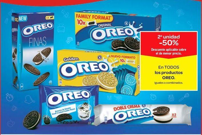 Oferta de En TODOS los productos OREO por