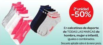 Oferta de En calcetines de deporte de TODAS LAS MARCAS de hombre, mujer e infantil por
