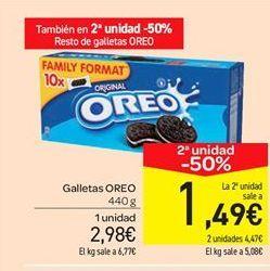 Oferta de Galletas Oreo por 2.98€