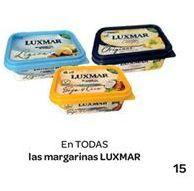 Oferta de Margarinas LUXMAR por