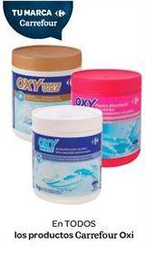 Oferta de En TODOS los productos de Carrefour Oxi por