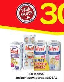 Oferta de Las leches evaporadas Ideal por