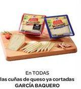 Oferta de Cuñas de queso ya cortadas  por