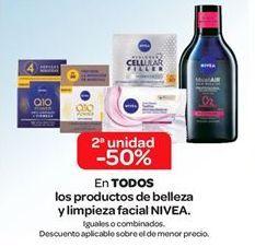Oferta de En TODOS los productos de belleza y limpieza facial NIVEA  por