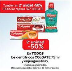 Oferta de En TODOS los dentífrico Colgate y enjuagues Plax por