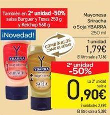 Oferta de Mayonesa Sriracha o Soja por 1.79€