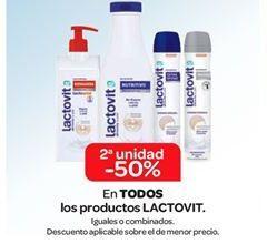 Oferta de En TODOS los productos Lactovit por