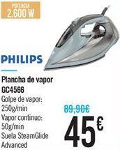 Oferta de Plancha de vapor GC4566 por 45€
