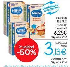 Oferta de Papillas Nestlé por 6.25€