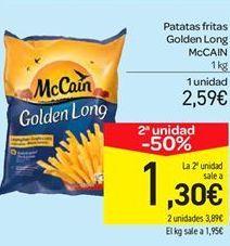 Oferta de Patatas fritas McCain por 2.59€