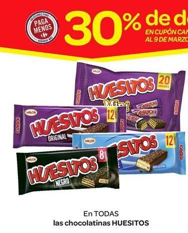 Oferta de Las chocolatinas Huesitos por